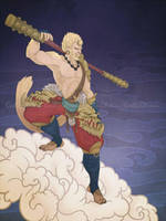 Tying the Connections: Sun Wukong_SMITE by CutiChan