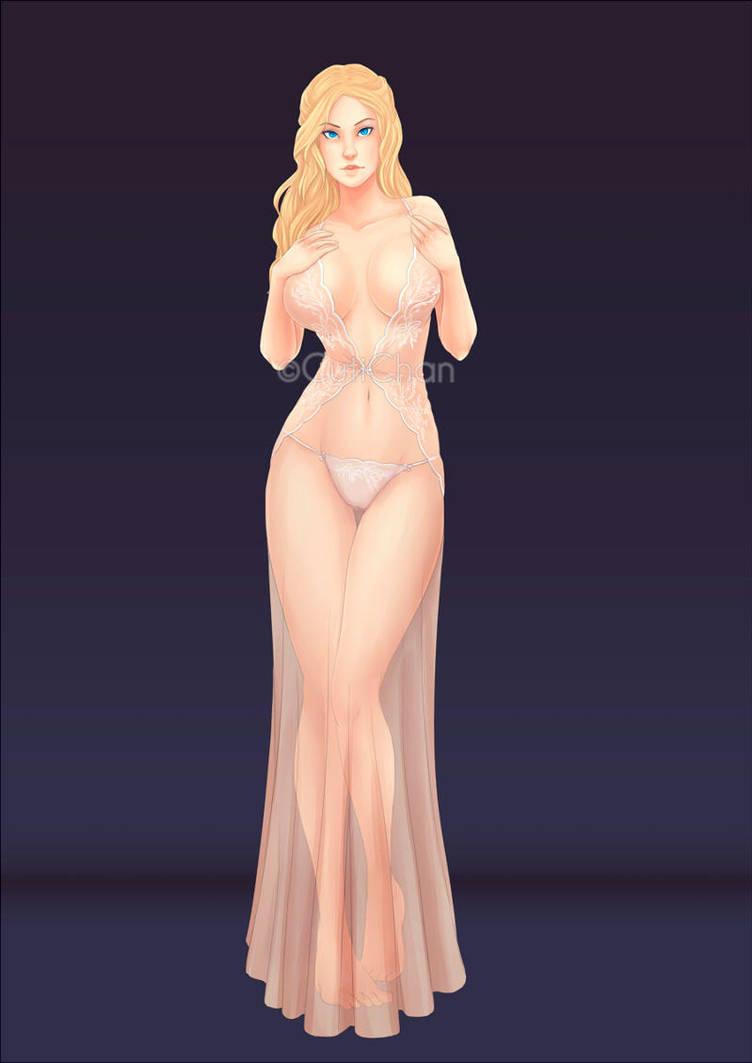 Aphrodite_Commission by CutiChan