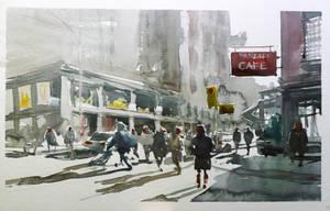 Street of NY by terton