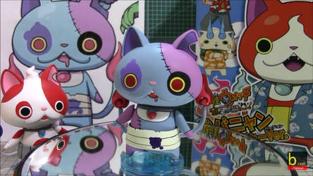 Yo-Kai Watch (Buchinyan and Zombonyan figures) by ENDORE050
