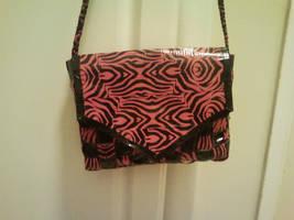 Pink Zebra Duct tape purse by UnderCoverCottonswab