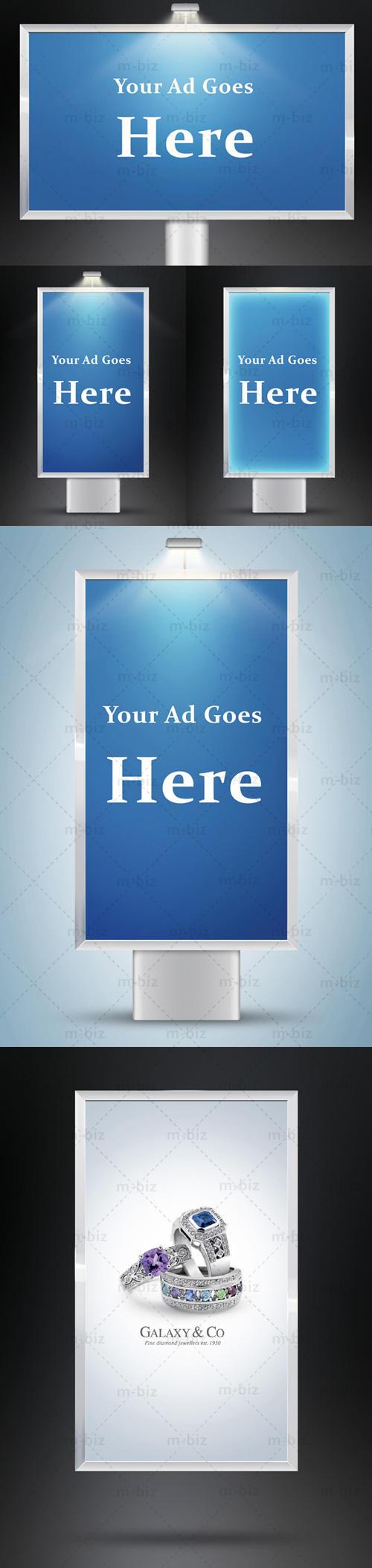 Advertising Boards by m-biz