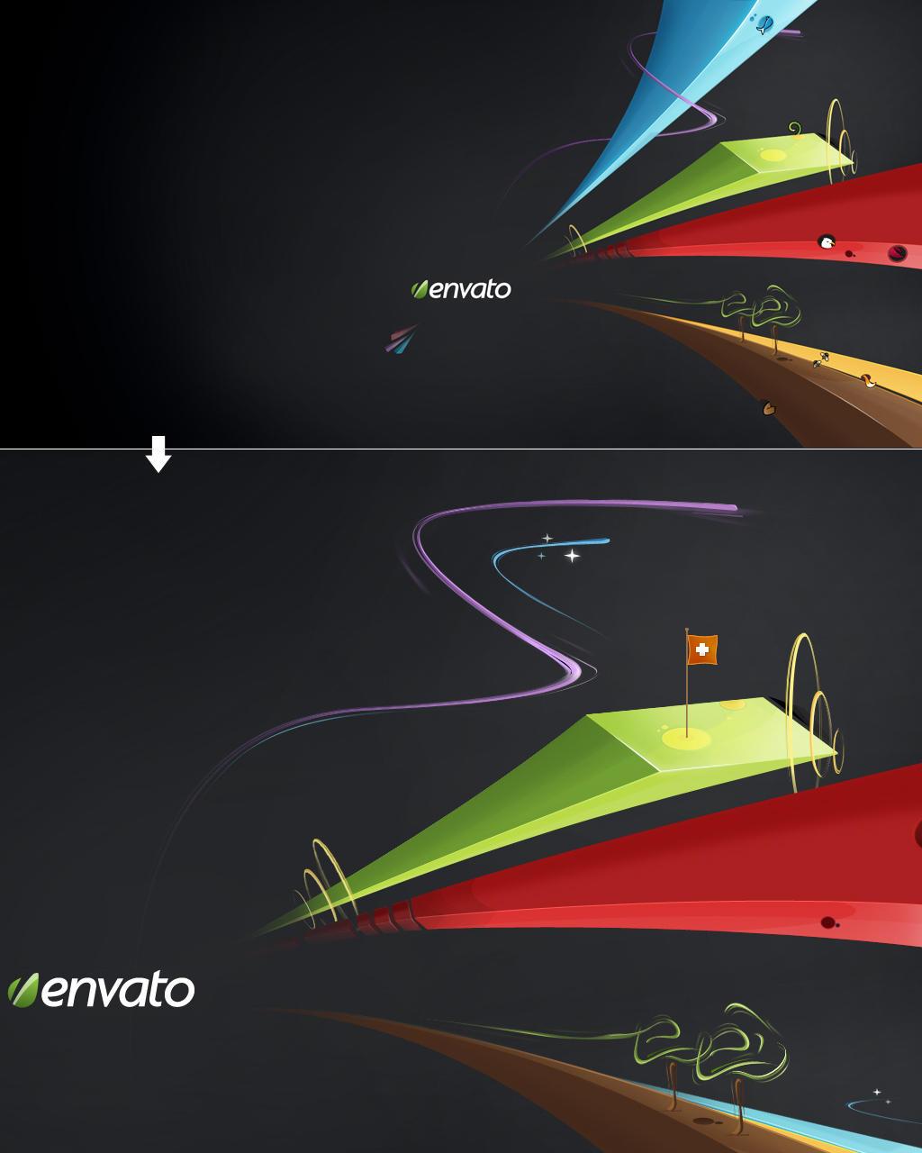 Envato Wallpaper by m-biz