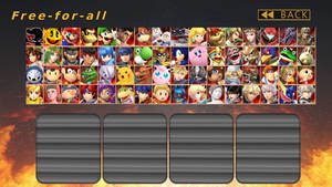 Just A Smash Roster by MrYoshi1996