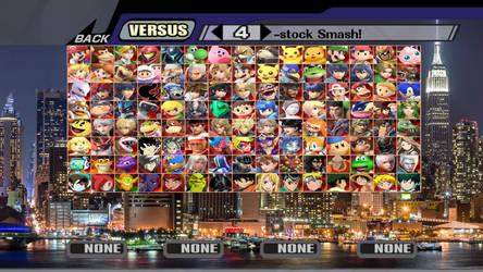 Random Smash Roster #10 by MrYoshi1996