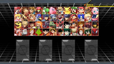 Random Smash Roster #11 by MrYoshi1996