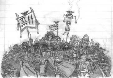 Death Korp of Krieg Group Shot by balrogtheclown