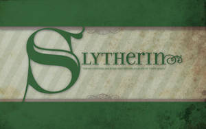 Slytherin Wallpaper by rinabina123