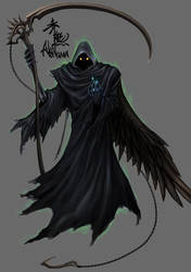 the grim reaper by akakuma