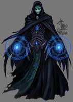 necromancer by akakuma