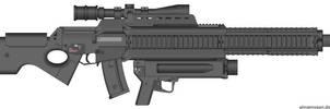 G63 Adaptive Rifle Concept by hoshikawayayoi
