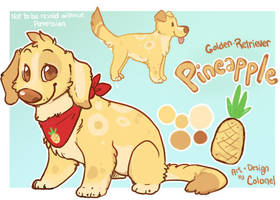 Pineapple puppy express by Colonels-Corner