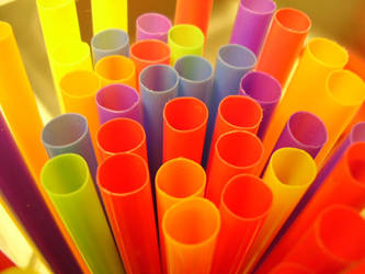 Plastic Rainbow by Ladyofevilness