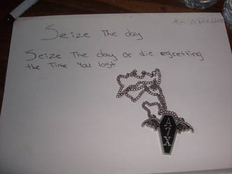 Seize The Day lyrics by A7XFan666