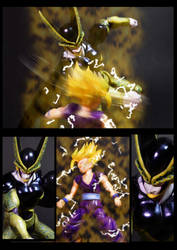 Cell vs Gohan Part 3 - p5 by SUnicron
