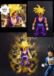 Cell vs Gohan Part 6 - p6 by SUnicron