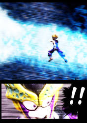 Cell vs Gohan Part 7 - p17 by SUnicron