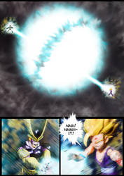 Cell vs Gohan Part 7 - p13 by SUnicron