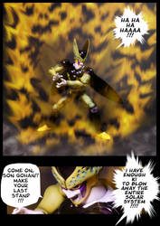 Cell vs Gohan Part 7 - p4 by SUnicron
