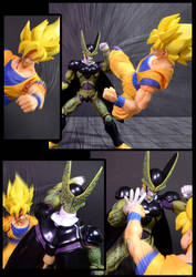 Cell vs Goku Part 1 - p4 by SUnicron