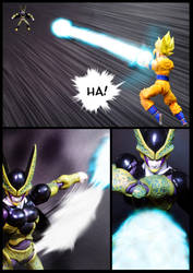 Cell vs Goku Part 1 - p8 by SUnicron