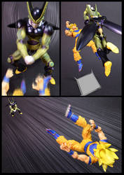 Cell vs Goku Part 1 - p10 by SUnicron