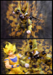 Cell vs Goku Part 3 - p3 by SUnicron