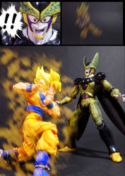 Cell vs Goku Part 4 - p8 by SUnicron