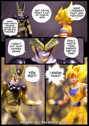 Cell vs Goku Part 5 - p1 by SUnicron