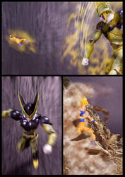 Cell vs Goku Part 5 - p3 by SUnicron