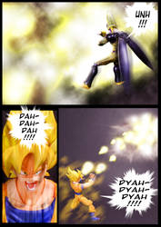 Cell vs Goku Part 5 - p5 by SUnicron