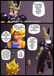 Cell vs Goku Part 6 - p1 by SUnicron