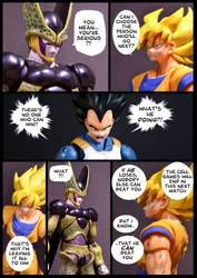 Cell vs Goku Part 6 - p2 by SUnicron
