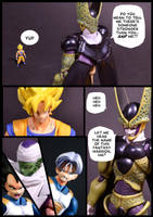 Cell vs Goku Part 6 - p3 by SUnicron