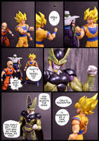 Cell vs Goku Part 6 - p10 by SUnicron