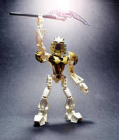 Takanuva - Toa of Light by SUnicron