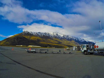 Leave The Plane Welcomed With This.. Queenstown. by rikrun45