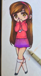 Geavity Falls: Mabel by Annikania