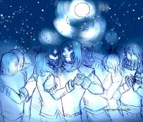 Under_The_Moon by CrimsonKingArt