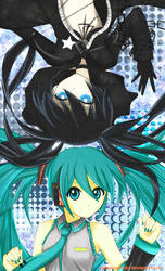 BlackRock Shooter X Vocaloid Crossover by Hikari-Inori927