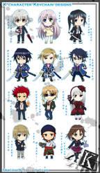 K - keychain group by Hikari-Inori927