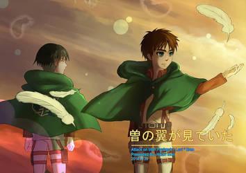 Snk Doujinshi Cover - Sono tsubasa ga mitteiru by Hikari-Inori927