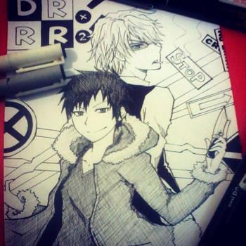 Durarara!! x2 Trial Work by Hikari-Inori927