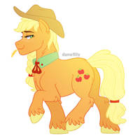 Harmonyverse: Applejack by DuneFilly