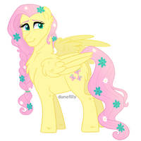 Harmonyverse: Fluttershy by DuneFilly