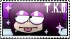 OK K.O: LBH - f2u TKO stamp by Peridyne765