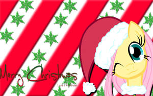 Merry Christmas... love Fluttershy by Timexturner