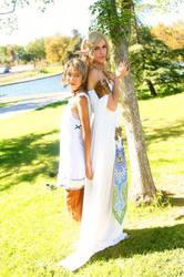 Lady Zelda and Young Ilia by ThePrincessZelda
