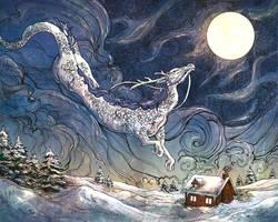 Winter Dragon by Dreoilin