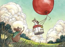 Bon Voyage 1 by Dreoilin